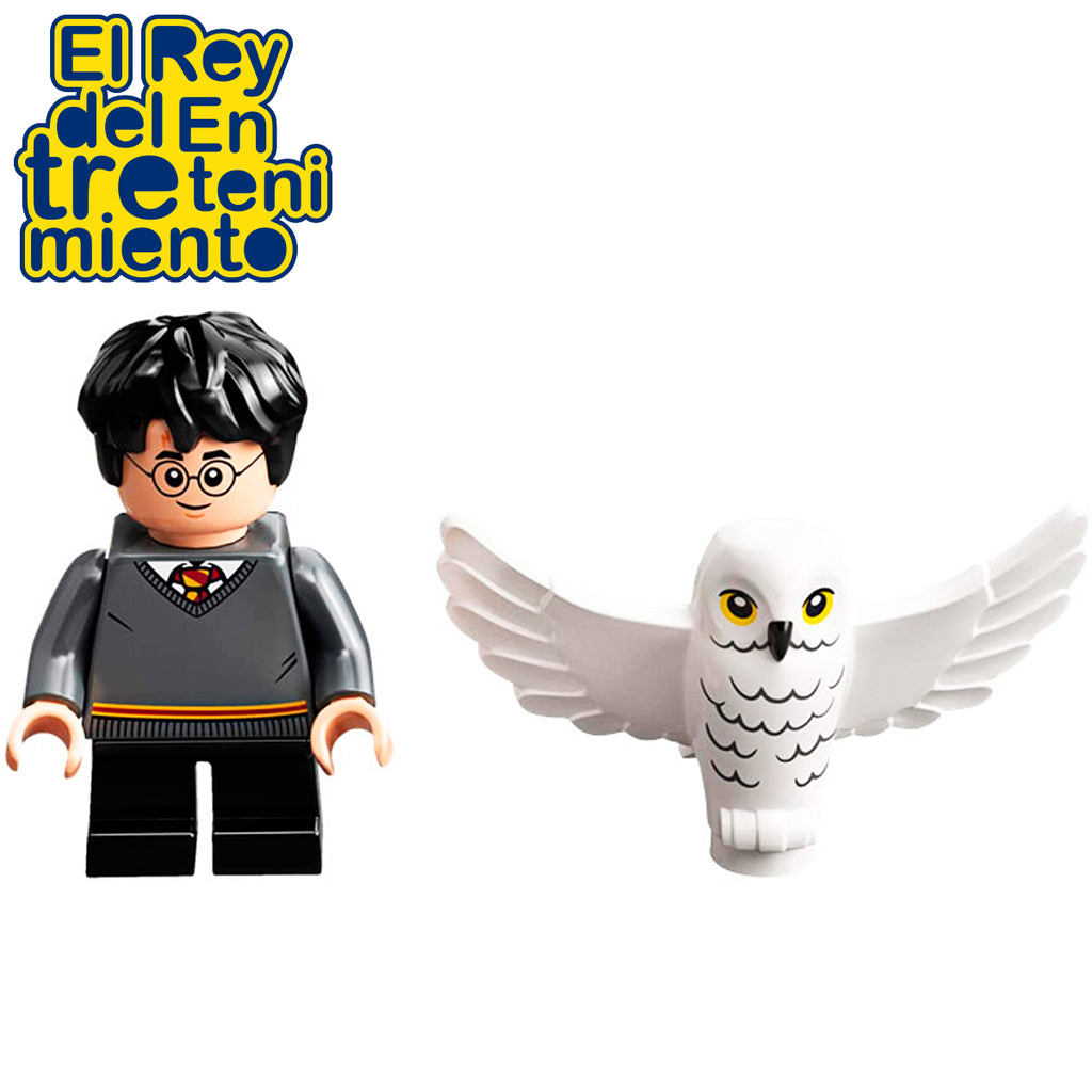 Lego Harry Potter Figuras Harry Potter And Hedwig (5067997937803)