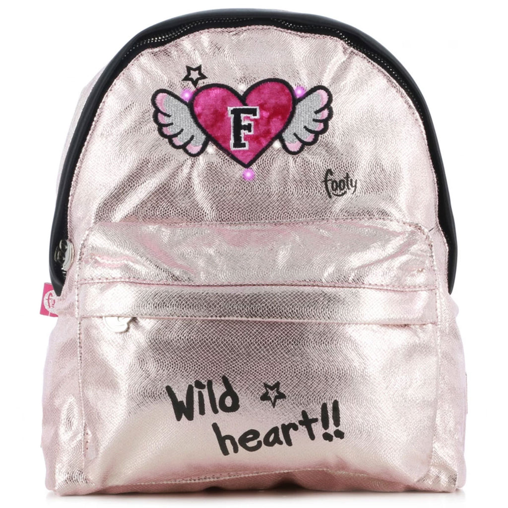 Mochila Footy Fashion Con Luces Para Niña Glitter (5091204333707)