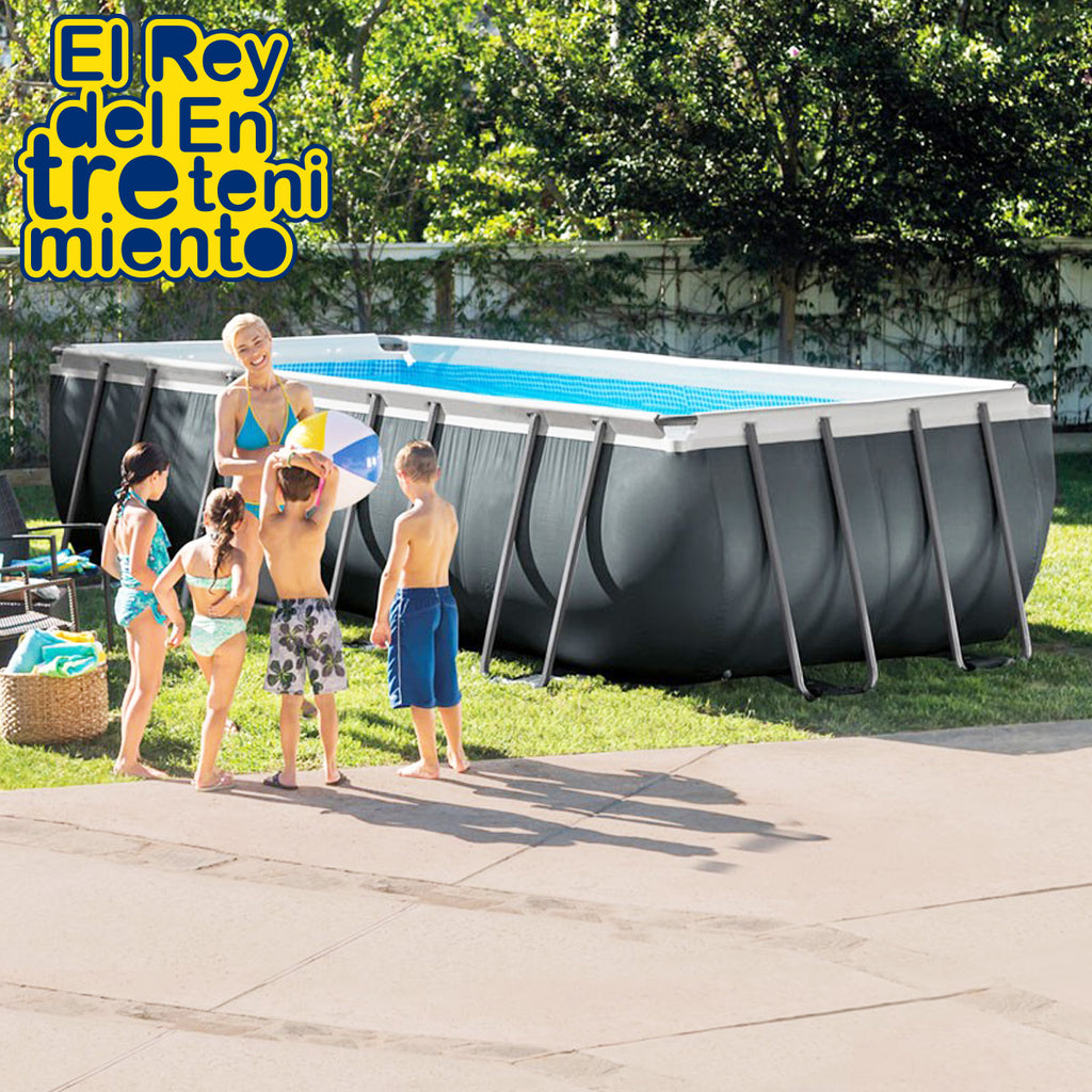 Piscina Intex Estructural 17203 Lts Rectangular (5027429089419)