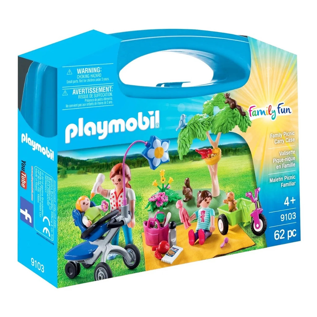 Playmobil Maletín Grande Picnic Familiar (4975795601547)