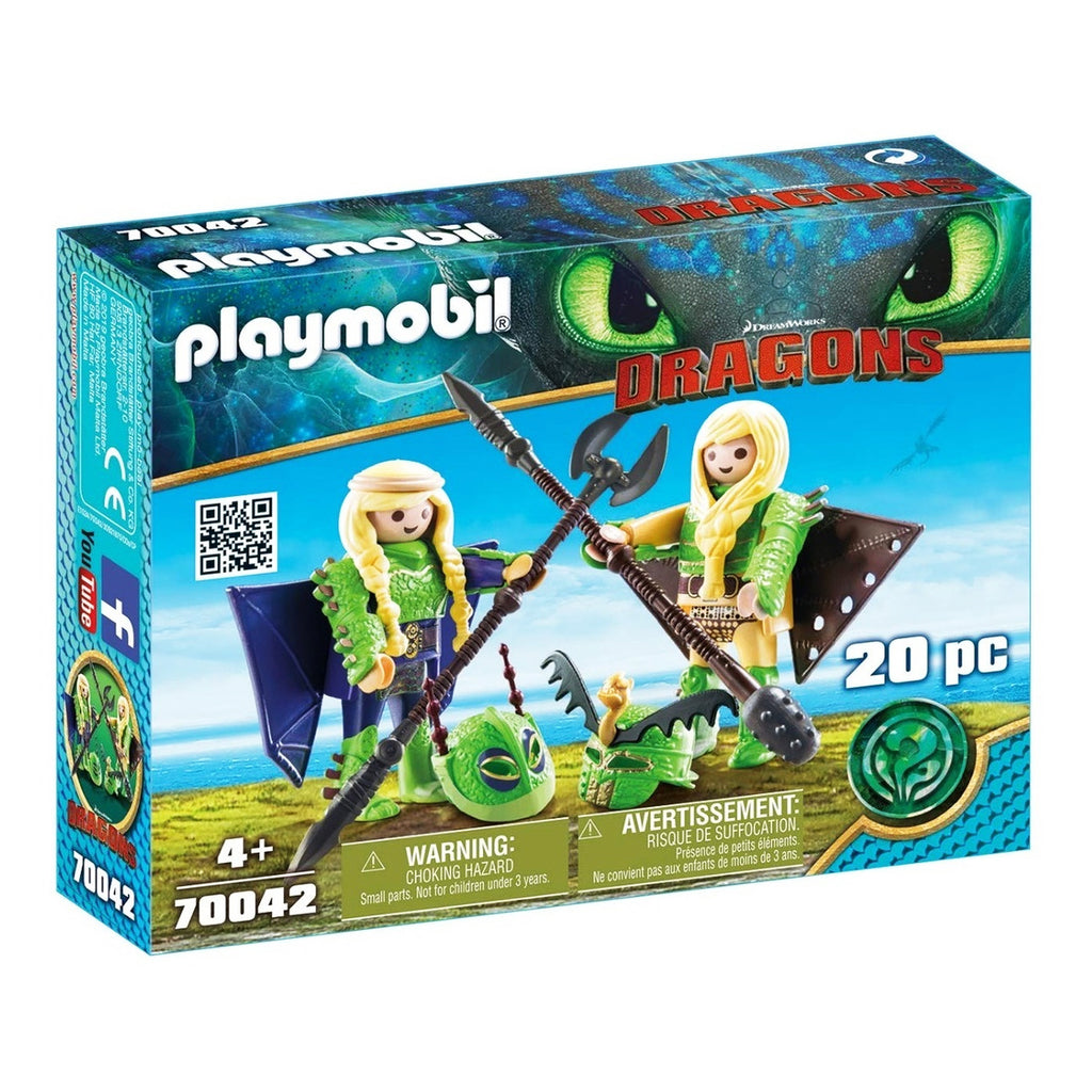 Playmobil Chusco Y Brusca Figuras Originales (4984429412491)