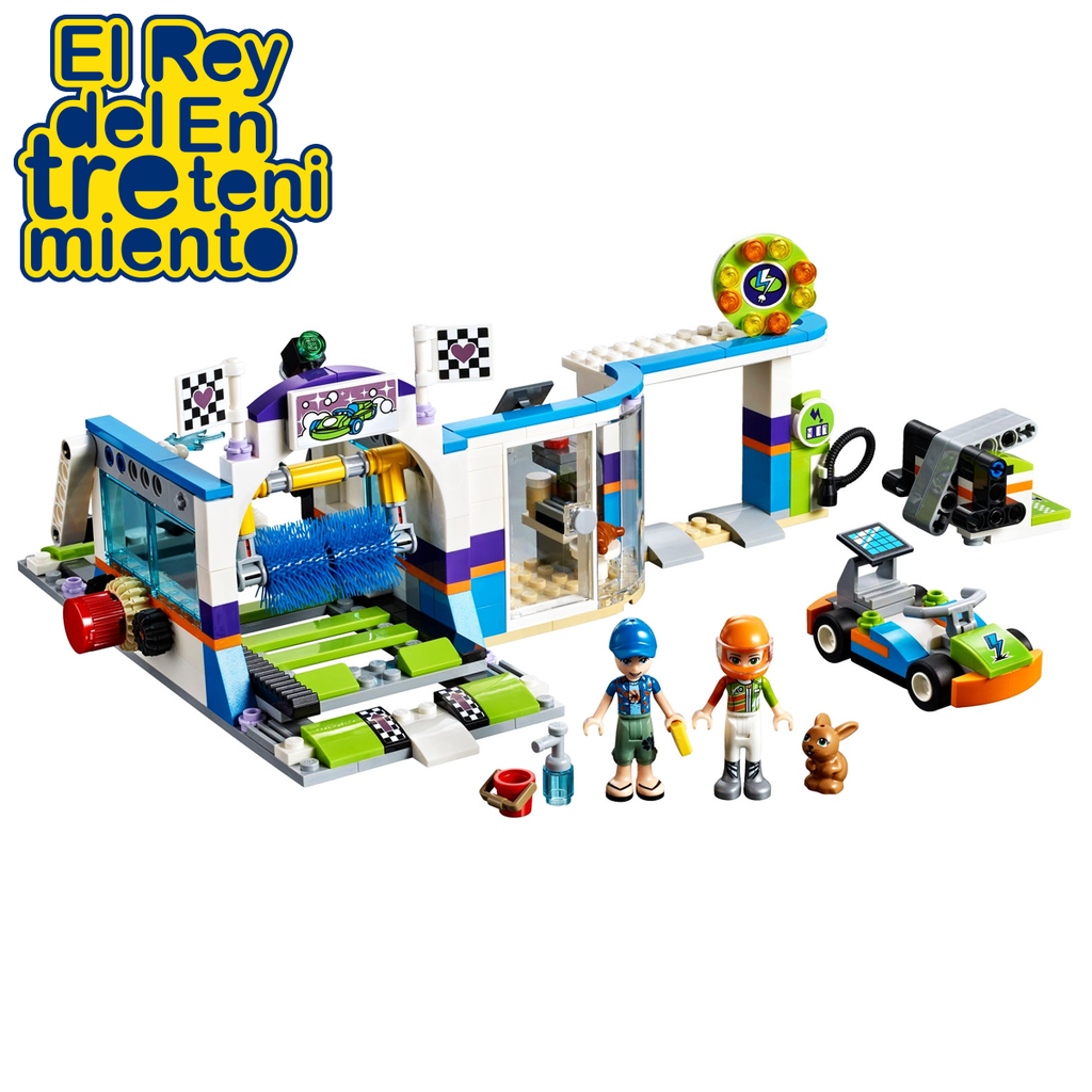 Lego Friends Autolavado Con Ce´pillos Giratorios (5061322506379)