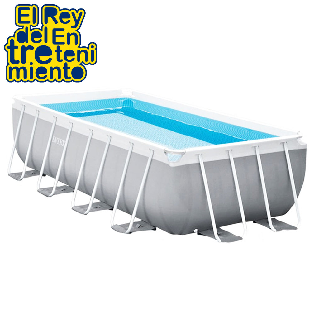 Piscina Intex Estructural 6836L Rectangular + Bomba (5027417129099)