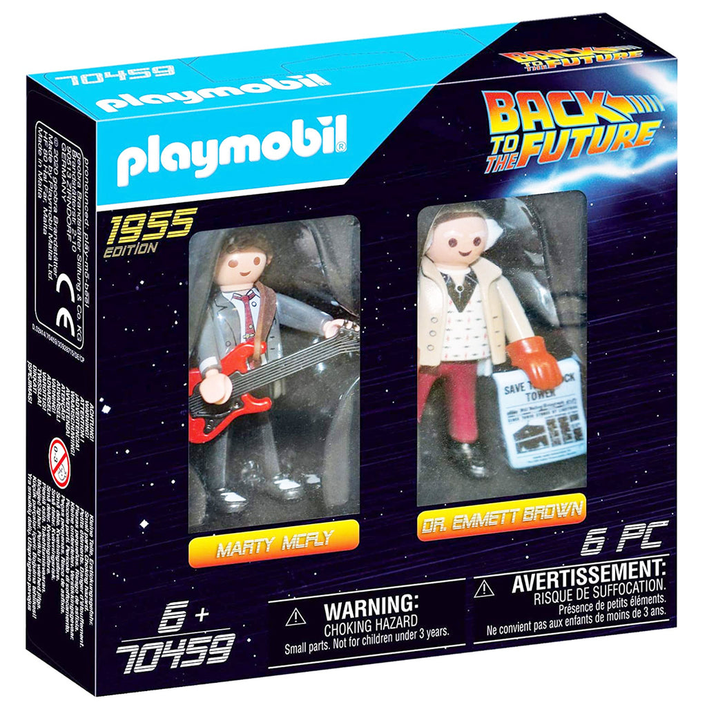 Playmobil Marty Mcfly & Doc Emmet Brown 70459 (5036936331403)