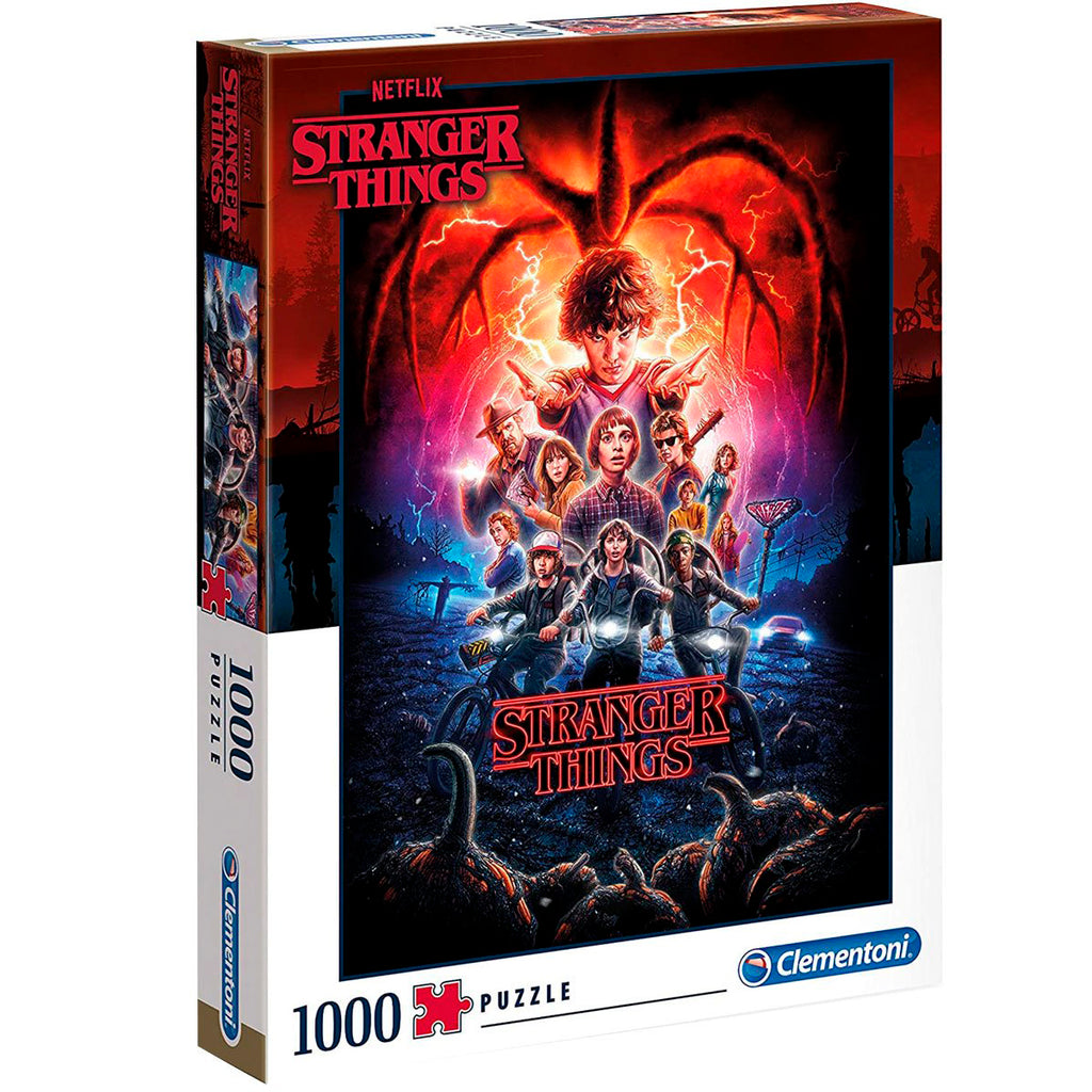 Puzzle Clementoni Stranger Things 1000 Pzs Calidad HD (5079917985931)
