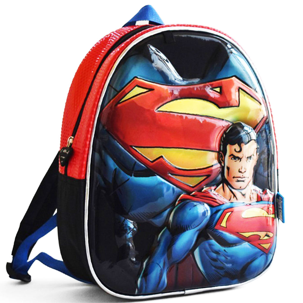 Mochila 3d Con Capa Batman Superman Flash Para Niño (4973562265739)