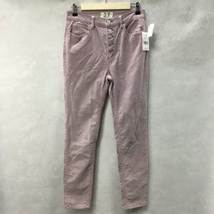 Primary Photo - BRAND: FREE PEOPLE STYLE: PANTS COLOR: PURPLE SIZE: 4 OTHER INFO: NEW! SKU: 194-194167-31448