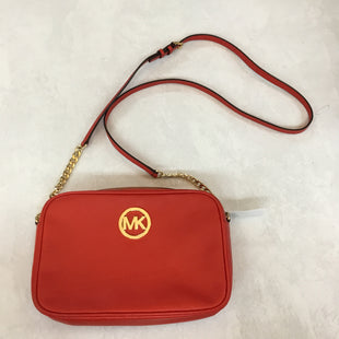 Primary Photo - BRAND: MICHAEL KORS STYLE: HANDBAG DESIGNER COLOR: RED SIZE: SMALL SKU: 194-194220-546710X6.5X2