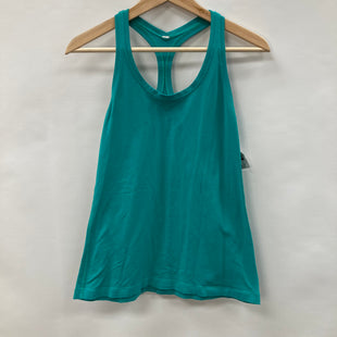 Primary Photo - BRAND: LULULEMON STYLE: ATHLETIC TANK TOP COLOR: TEAL SIZE: 8 SKU: 194-19414-40695AS IS