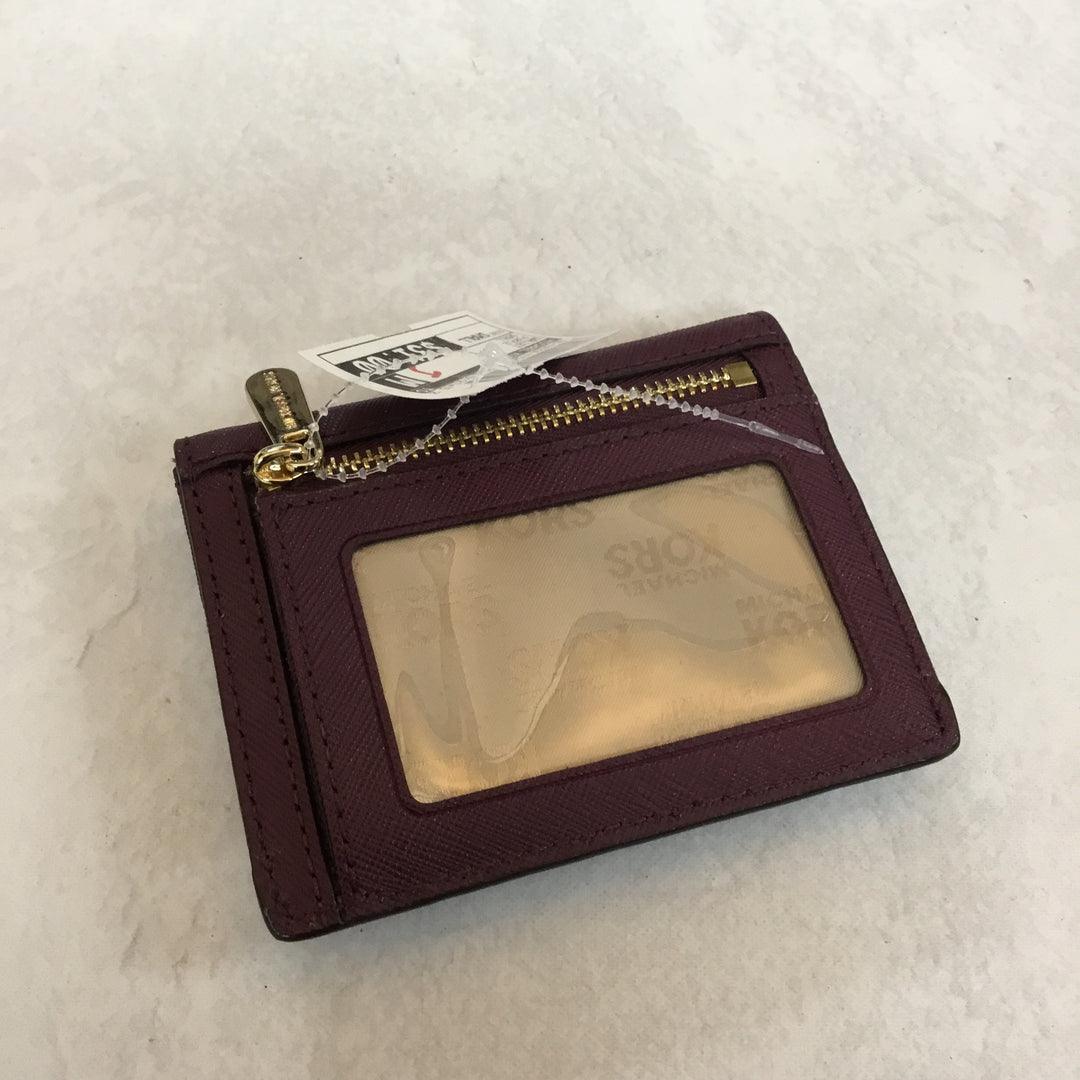 Photo #1 - BRAND: MICHAEL KORS <BR>STYLE: WALLET <BR>COLOR: PURPLE <BR>SIZE: SMALL <BR>SKU: 194-194224-476