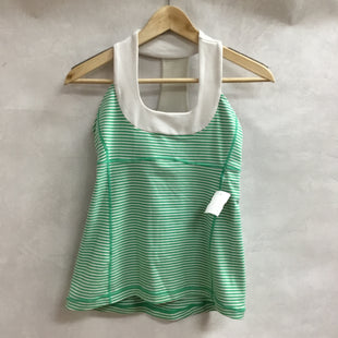 Primary Photo - BRAND: LULULEMON STYLE: ATHLETIC TANK TOP COLOR: GREEN SIZE: 6 SKU: 194-194167-32398