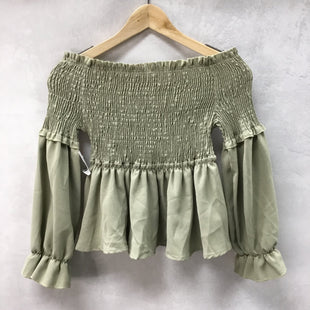 Primary Photo - STYLE: TOP LONG SLEEVE COLOR: OLIVE SIZE: S SKU: 194-194225-1811