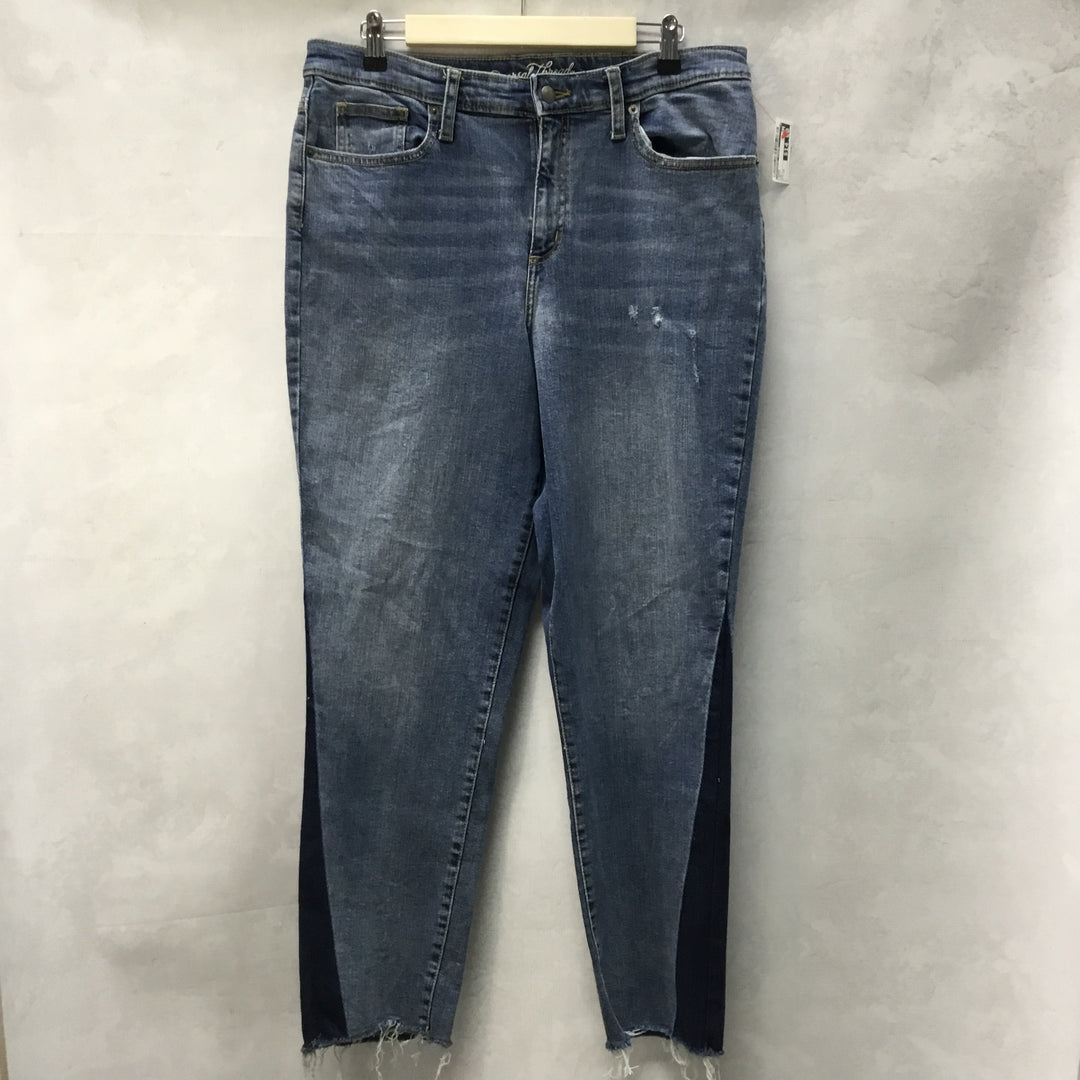 Primary Photo - BRAND: UNIVERSAL THREAD <BR>STYLE: JEANS <BR>COLOR: DENIM <BR>SIZE: 14 <BR>SKU: 194-194183-22476