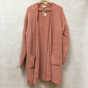Primary Photo - BRAND: AVA & VIV STYLE: SWEATER CARDIGAN HEAVYWEIGHT COLOR: PINK SIZE: 1X SKU: 194-194167-31120