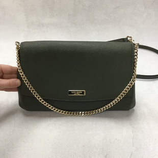 Primary Photo - BRAND: KATE SPADE STYLE: HANDBAG DESIGNER COLOR: GREEN SIZE: MEDIUM OTHER INFO: 11 X 1.5 X 6.5 INCHESSKU: 194-194167-33054