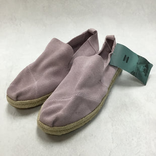 Primary Photo - BRAND: TOMS STYLE: SHOES FLATS COLOR: LILAC SIZE: 9 OTHER INFO: NEW! SKU: 194-194167-31425