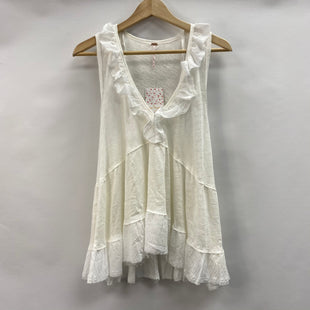 Primary Photo - BRAND: FREE PEOPLE STYLE: TOP SLEEVELESS COLOR: WHITE SIZE: M OTHER INFO: NEW! SKU: 194-194167-35003