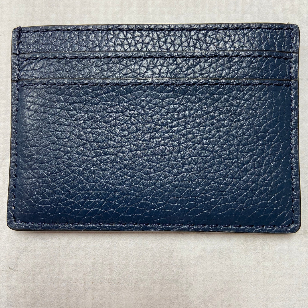 Photo #1 - BRAND: MARC JACOBS <BR>STYLE: WALLET <BR>COLOR: NAVY <BR>SIZE: SMALL <BR>OTHER INFO: CARD HOLDER <BR>SKU: 194-19414-36685