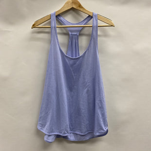 Primary Photo - BRAND: LULULEMON STYLE: ATHLETIC TANK TOP COLOR: PERIWINKLE SIZE: 8 SKU: 194-194183-22922