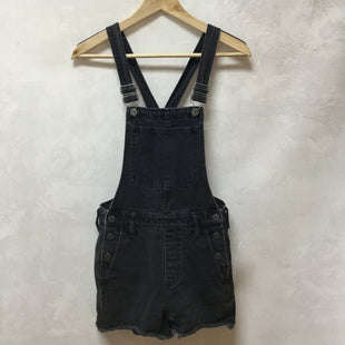 Primary Photo - BRAND: MADEWELL STYLE: DRESS SHORT SLEEVELESS COLOR: DENIM SIZE: XXS OTHER INFO: SHORT OVERALLS SKU: 194-194225-3003