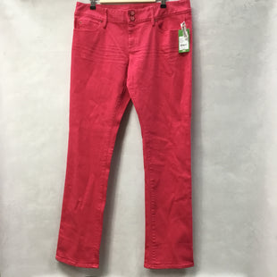 Primary Photo - BRAND: LILLY PULITZER STYLE: PANTS COLOR: RED SIZE: 14 OTHER INFO: NWT $148 SKU: 194-194220-5280