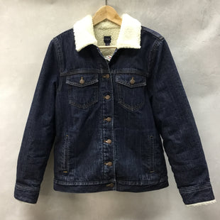 Primary Photo - BRAND: J CREW STYLE: JACKET OUTDOOR COLOR: DENIM SIZE: S SKU: 194-194225-83