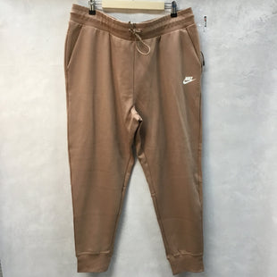 Primary Photo - BRAND: NIKE APPAREL STYLE: ATHLETIC PANTS COLOR: TAN SIZE: XL OTHER INFO: NEW! SKU: 194-194183-21240