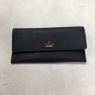 Primary Photo - BRAND: KATE SPADE STYLE: WALLET COLOR: NAVY SIZE: LARGE 8.5 X 4.5 INCHESSKU: 194-194167-30010