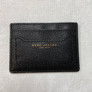Primary Photo - BRAND: MARC JACOBS STYLE: WALLET COLOR: BLACK SIZE: SMALL OTHER INFO: CARD HOLDER SKU: 194-19414-36684