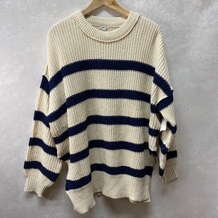 Primary Photo - BRAND: AERIE STYLE: SWEATER HEAVYWEIGHT COLOR: STRIPED SIZE: S OTHER INFO: NEW! SKU: 194-19414-39102