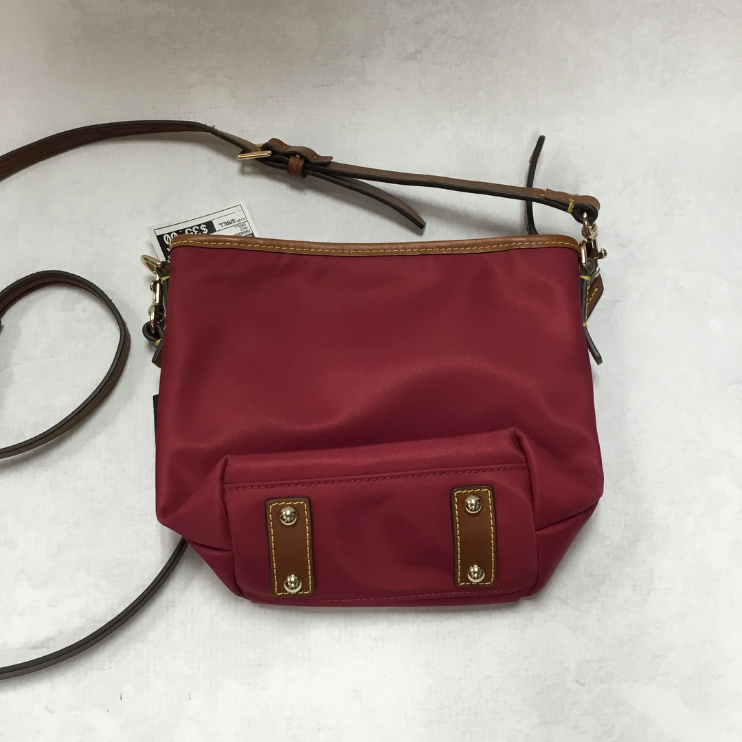 Photo #1 - BRAND: DOONEY AND BOURKE <BR>STYLE: HANDBAG DESIGNER <BR>COLOR: PINK<BR>SIZE: SMALL <BR>OTHER INFO: 9 X 3.5 X 8 INCH<BR>SKU: 194-194220-4297R