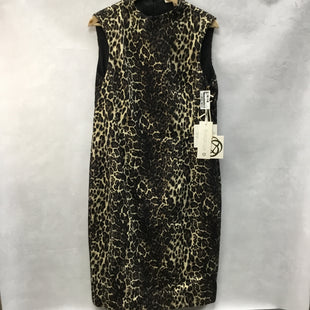 Primary Photo - BRAND: ETCETERASTYLE: DRESS SHORT SLEEVELESS COLOR: ANIMAL PRINT SIZE: L OTHER INFO: ETCETERA - NEW! SKU: 194-194167-32878.