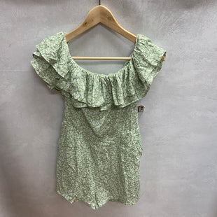 Primary Photo - BRAND:   CMC STYLE: DRESS SHORT SHORT SLEEVE COLOR: GREEN SIZE: S OTHER INFO: THE NATIVE ONE - NEW! SKU: 194-194172-21823ROMPER