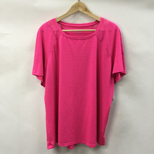 Primary Photo - BRAND: AVIA STYLE: ATHLETIC TOP SHORT SLEEVE COLOR: HOT PINK SIZE: 3X SKU: 194-194183-25570