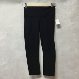 Primary Photo - BRAND: LULULEMON STYLE: ATHLETIC CAPRIS COLOR: BLACK SIZE: 2 OTHER INFO: AS IS SKU: 194-19414-38282