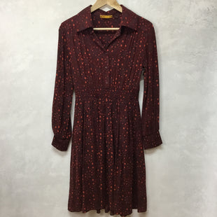 Primary Photo - BRAND: ALICE + OLIVIA STYLE: DRESS SHORT LONG SLEEVE COLOR: MAROON SIZE: S SKU: 194-194167-32951