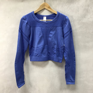 Primary Photo - BRAND: FABLETICS STYLE: ATHLETIC TOP COLOR: BLUE SIZE: L SKU: 194-194220-5415