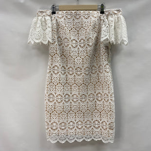 Primary Photo - BRAND: ELIZA J STYLE: DRESS SHORT SHORT SLEEVE COLOR: WHITE SIZE: M OTHER INFO: NEW! SKU: 194-194231-2948