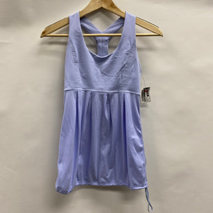 Primary Photo - BRAND: LULULEMON STYLE: ATHLETIC TANK TOP COLOR: PERIWINKLE SIZE: 4 SKU: 194-19414-38037