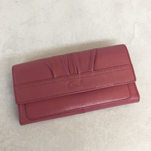 Primary Photo - BRAND: COACH STYLE: WALLET COLOR: PINK SIZE: MEDIUM SKU: 194-194167-28448