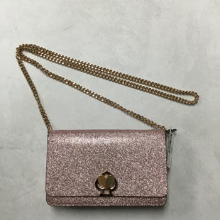 Primary Photo - BRAND: KATE SPADE STYLE: HANDBAG DESIGNER COLOR: PINK SIZE: SMALL OTHER INFO: SPARKLES SKU: 194-194229-44417.5X4.5X1.5