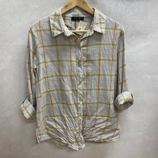 Primary Photo - BRAND:  MAVENSTYLE: TOP LONG SLEEVE COLOR: PLAID SIZE: S SKU: 194-194172-17331