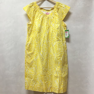 Primary Photo - BRAND: LILLY PULITZER STYLE: DRESS SHORT SHORT SLEEVE COLOR: YELLOW SIZE: XL OTHER INFO: NEW! SKU: 194-194183-22242