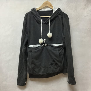 Primary Photo - BRAND:    KEI TOMLISON STYLE: SWEATSHIRT HOODIE COLOR: GREY SIZE: L OTHER INFO: FRONT POCKET FOR YOUR SMALL ANIMALSKU: 194-194231-2210