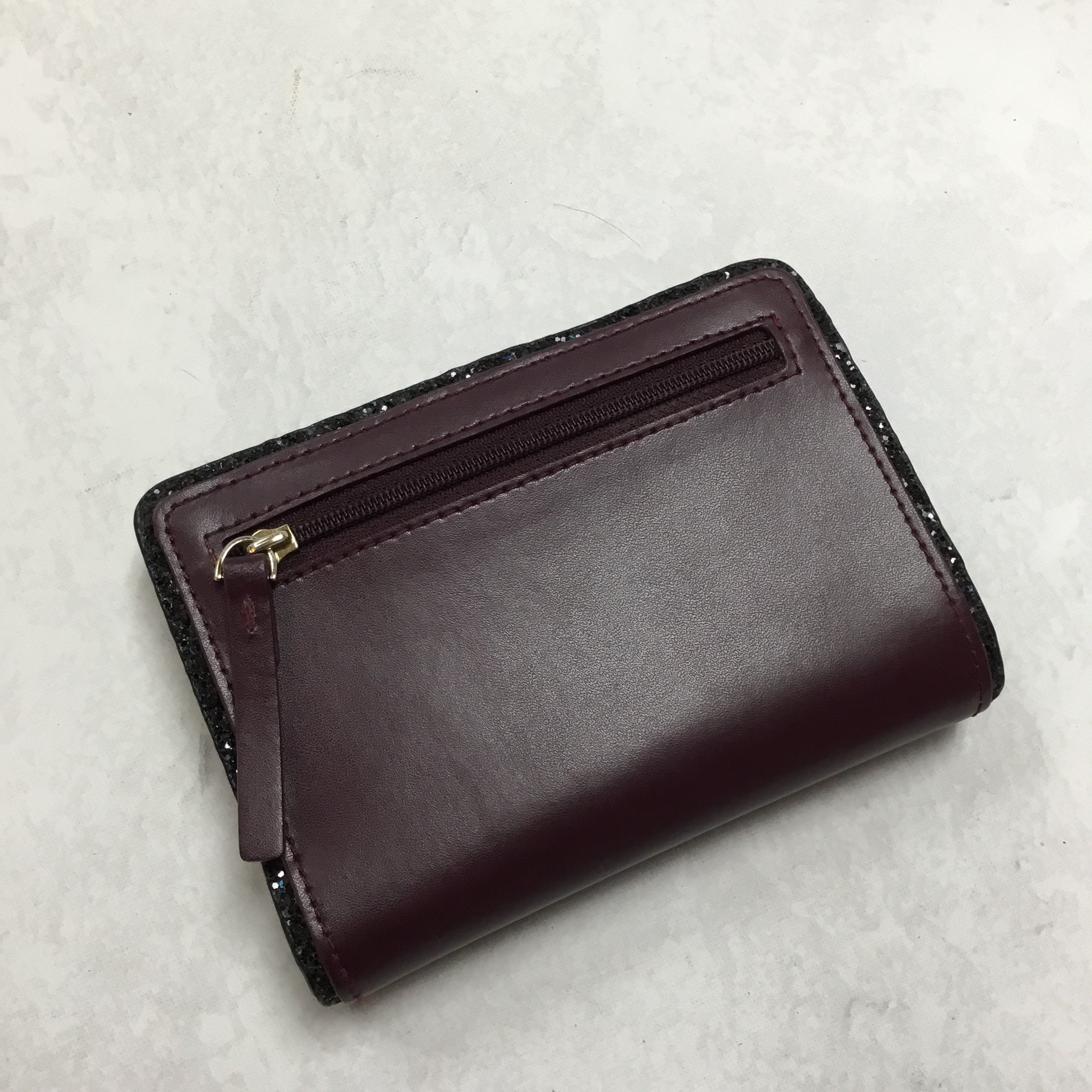 Photo #1 - BRAND: KATE SPADE <BR>STYLE: WALLET <BR>COLOR: MAROON <BR>SIZE: MEDIUM <BR>SKU: 194-19414-37658