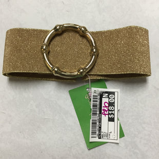 Primary Photo - BRAND: LILLY PULITZER STYLE: BELT COLOR: GOLD SIZE: L OTHER INFO: NEW! SKU: 194-194167-32879