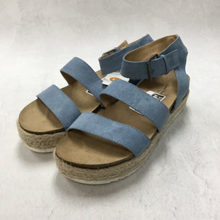 Primary Photo - BRAND: UNIVERSAL THREAD STYLE: SANDALS FLAT COLOR: BLUE SIZE: 9.5 SKU: 194-19414-38220
