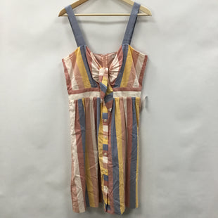 Primary Photo - BRAND: MADEWELL STYLE: DRESS SHORT SLEEVELESS COLOR: STRIPED SIZE: L SKU: 194-194183-24695