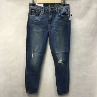 Primary Photo - BRAND: 7 FOR ALL MANKIND STYLE: JEANS COLOR: DENIM SIZE: 8 OTHER INFO: NEW! SKU: 194-194225-2342