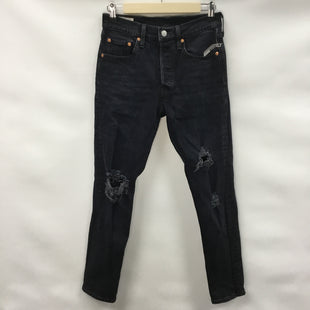 Primary Photo - BRAND: LEVIS STYLE: PANTS COLOR: BLACK DENIM SIZE: 4 SKU: 194-194236-301